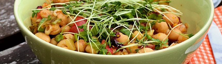Più ceci e più legumi: il consumo è in netto aumento