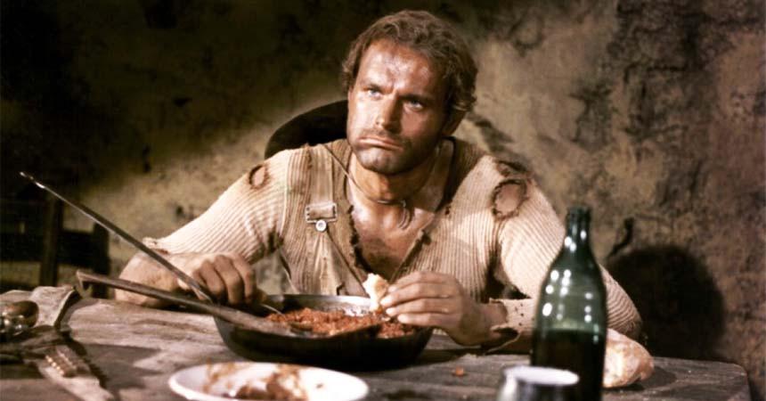Quando il cibo diventa... Cinema: Lo Chiamavano Trinità