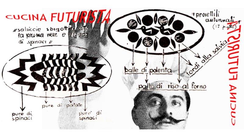 Quando il cibo diventa... Letteratura: Il Futurismo